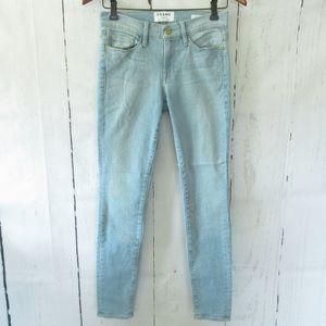 Frame Denim Le Skinny De Jeanne Jeans Light Wash